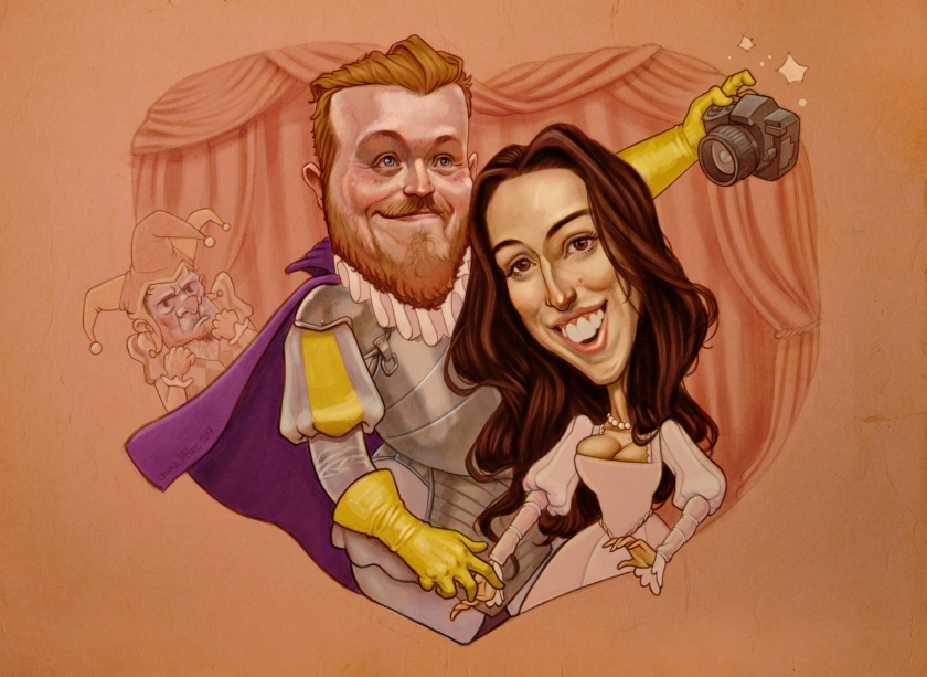 A Couple's Caricature