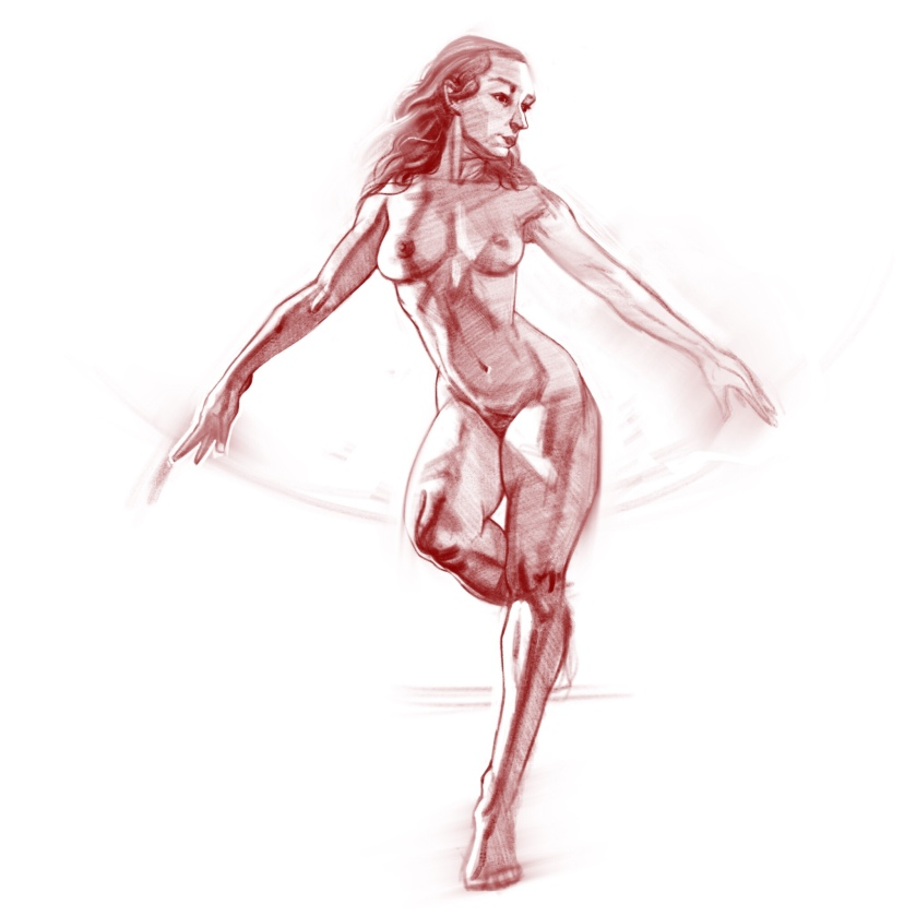 Gesture drawing January 2018